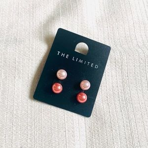 NWT The Limited Round Ball Earrings